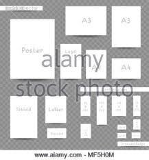 Formati Brochure Formati Di Stampa Modello Pubblicitario Set Il Corporate Design