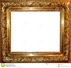 Vintage Antique Gold Frame stock photo Image of photo 25936640
