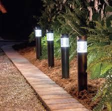 solar outdoor lighting ideas improvements blog recessed walkway solar lights solar outdoor lighting column path lights