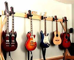 the 4 best guitar wall hangers