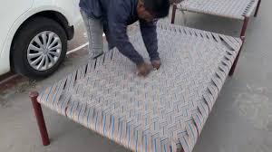 Char Pai Ke Design Weaving A Charpai Bed