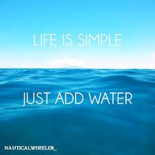 Life Is Simple Quote Quotes Simple Life Quotes Water Quotes