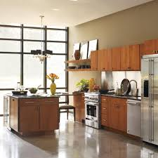 Thomasville Classic Custom Kitchen Cabinets Shown In Industrial