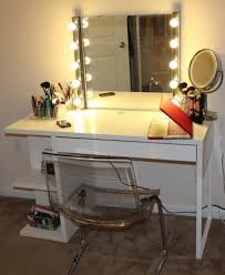 Lighting Vanity Mirror With Light Bulbs Ikea Diy Hollywood Vanity