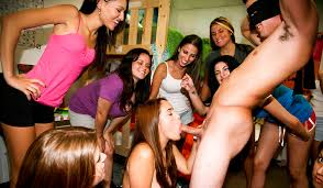 Group of college girls 1 dick