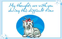 Sympathy Card Pet Loss Printable Pet Sympathy Pet Loss Condolence Greeting Cards