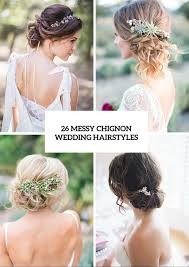 Chingon Hair Style 26 chic messy chignon wedding hairstyles weddingomania 5823 by wearticles.com