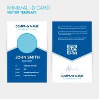 Company Id Card Template Id Card Design Templates Free To Download