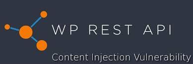 wordpress rest api endpoint zero day