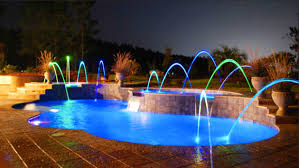 pool landscape lighting ideas. 15 Attractive Swimming Pool Lighting Ideas Landscape I