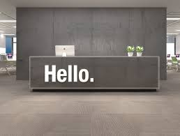 wall decor for office. Hello Office Wall Decor 3D For A
