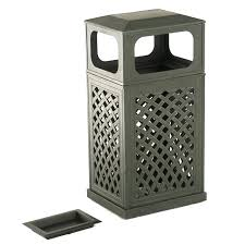 patio trash can lovely patio garbage can 3 decorative patio trash cans outdoor wicker trash can