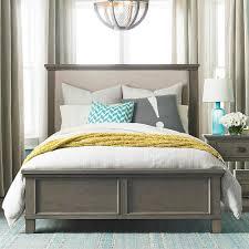 Driftwood Bedroom Furniture Upholstered Bed Driftwood Finish