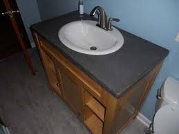 concrete countertop together we wood