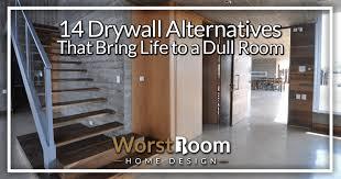 14 drywall alternatives that bring life