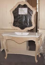 Mobili da bagno in legno grezzo ~ mobilia la tua casa