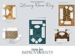how to choose an area rug lovely selecting the best rug size for your space improvements blog