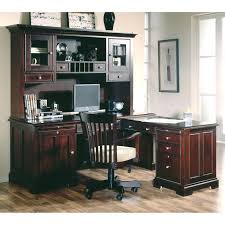 office depot desk hutch. Riverside Urban Crossings L Shaped Desk With Hutch Espresso Corner Office Workstation Depot H