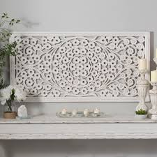 interior white daisy carved wood wall panel kirklands artistic art casual 11 white wood on kirklands wood wall art with interior white wood wall art white daisy carved wood wall panel
