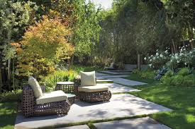 modern concrete patio furniture. Concrete Slab Cost Patio Contemporary With Brown Furniture Modern N