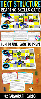 17 best ideas about cause and effect paragraph text structures activity text structures reading game