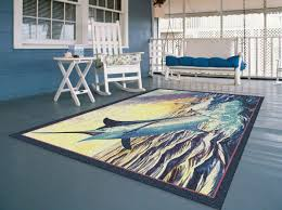 home ideas wonderful guy harvey rugs old man and the sea rug from guy harvey