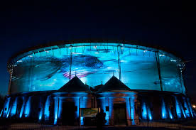 spectacular circular d projection mapping campaign