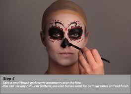 day of the dead makeup tutorial how to