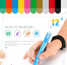 12/<b>24Pcs</b> Permanent Marker <b>Waterproof</b> CD Pen Tire Wine Glass ...