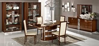 Walnut Furniture Living Room Roma Dining Walnut Camelgroup Italy Modern Formal Dining Sets