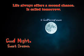 Inspirational Good Night Quotes Magnificent Inspirational Good Night Quotes About Life Good Morning Fun
