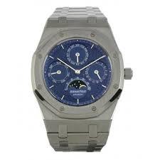 audemars piguet royal oak perpetual calendar platinum men s watch audemars piguet royal oak perpetual calendar platinum men s watch 25820pt