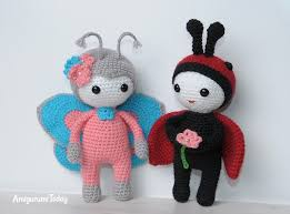 Amigurumi Doll Patterns Enchanting Amigurumi Doll In Butterfly Costume Amigurumi Today