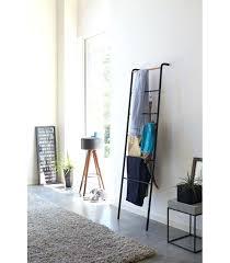 decorative metal ladder black