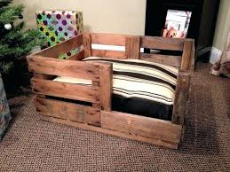wooden crate beds for dogs bed frame diy