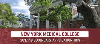 new york medical college secondary tips
