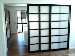 wall dividers for office. Wall Dividers With Doors Sliding Glass Door Room Panels Divider Office Privacy For N