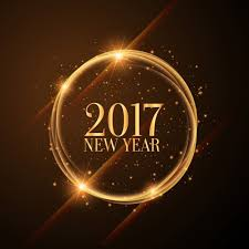 2017 background. Delighful 2017 Bright Golden Circle 2017 Background Free Vector With Background E