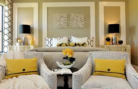 Astounding Master Bedroom Color Ideas with Twin Desk Lights on White  Dresser Add with Single Lounger on Floor