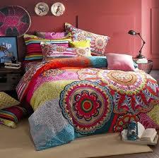 indian bedding sets duvet cover winter comforter cover pillow sham bedding sets queen king sanded cotton indian bedding
