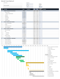 Deliverables Template Free Project Management Plan Templates Smartsheet