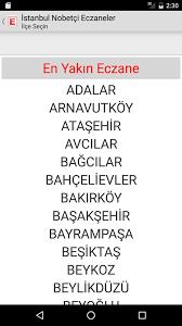 İstanbul Nöbetçi Eczaneler pour Android - Téléchargez l'APK