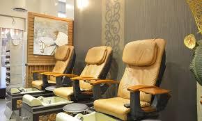up to 35 off mani pedi services at la lotus nails spa