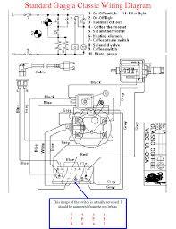wiring diagram gaggia classic