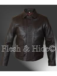 indiana jones harrison ford jacket available in both genuine faux leather