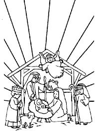 Small Picture Kids n funcom 31 coloring pages of Bible Christmas Story