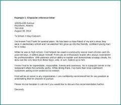 Student Character Reference Letter Character Reference Letter Student Agarvain Org