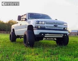 2000 Chevrolet Silverado 1500 Fuel Maverick Rough Country Suspension ...