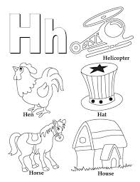 Small Picture My A to Z Coloring Book Letter H coloring page Download Free My