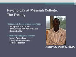 department of psychology messiah college ppt 16 psychology